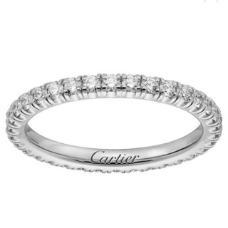 カルティエ(Cartier)の【mmママ様専用】カルティエ  フルエタニティリング  【7号】(リング(指輪))