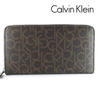 カルバンクライン(Calvin Klein)のカルバンクライン 長財布 ラウンドファスナー モノグラム 79468 新品(長財布)
