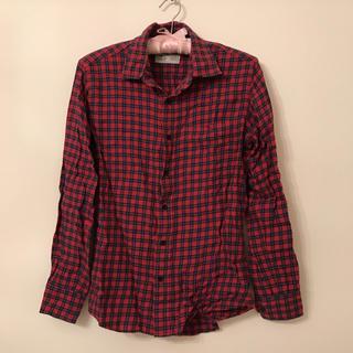 ユニクロ(UNIQLO)のチェックシャツ♡(シャツ/ブラウス(長袖/七分))