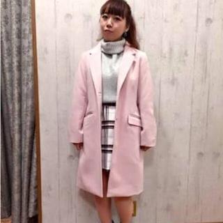 WEGO - WEGO チェスターコート ピンクの通販 by まめ's shop ウィゴーならラクマ
