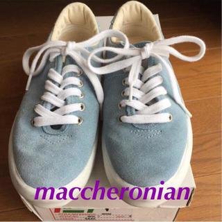マカロニアン(maccheronian)の【美品】マカロン スニーカー (37)23.5cm(スニーカー)