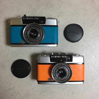 オリンパス(OLYMPUS)の【整備済・完動品】 パピコ様専用 OLYMPUS PEN EE-3(フィルムカメラ)