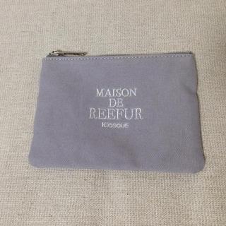 メゾンドリーファー(Maison de Reefur)のメゾンドリーファー★ポーチ 紫グレー(ポーチ)