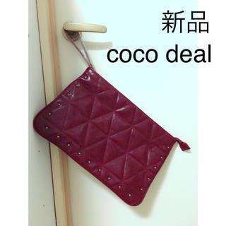 ココディール(COCO DEAL)のcoco deal(クラッチバッグ)