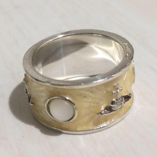 ヴィヴィアンウエストウッド(Vivienne Westwood)のキングリング イエロー m(リング(指輪))
