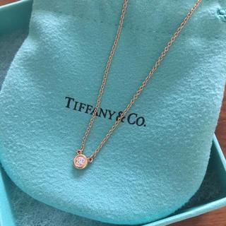 ティファニー(Tiffany & Co.)の【未使用】Tiffany バイザヤード 0.1ct(ネックレス)