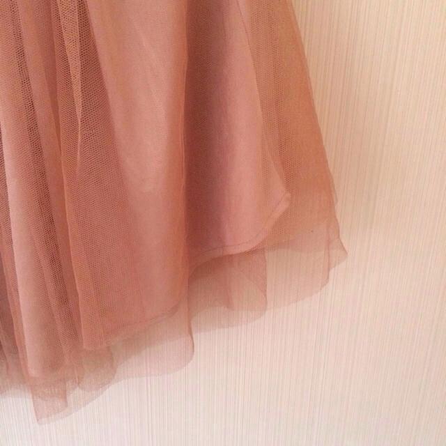 one after another NICE CLAUP(ワンアフターアナザーナイスクラップ)のチュールスカート♡ レディースのスカート(ミニスカート)の商品写真