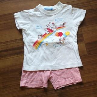 ファミリア(familiar)のTシャツ、ハーフパンツ(Tシャツ(半袖/袖なし))