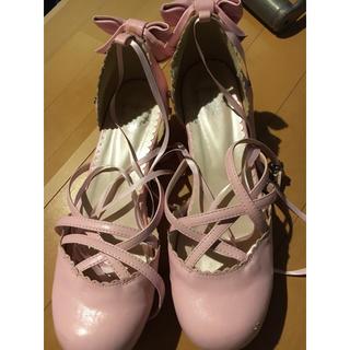 ベイビーザスターズシャインブライト(BABY,THE STARS SHINE BRIGHT)のベイビー ピンクリボンシューズ(ローファー/革靴)