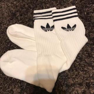 アディダス(adidas)のadidasソックス まりも様専用♡(ソックス)