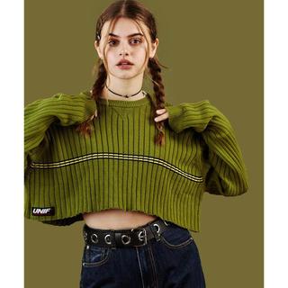 ユニフ(UNIF)のUNIF  ymani sweater(ニット/セーター)