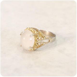 ✔️Vintage ring Filigree size 8.5(リング(指輪))