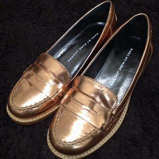 マークバイマークジェイコブス(MARC BY MARC JACOBS)のお取り置き中★マークジェイコブス(ローファー/革靴)
