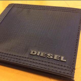 ディーゼル(DIESEL)の値下げ中! 新品 ディーゼル DIESEL 財布 二つ折り財布 ブラック  黒(折り財布)