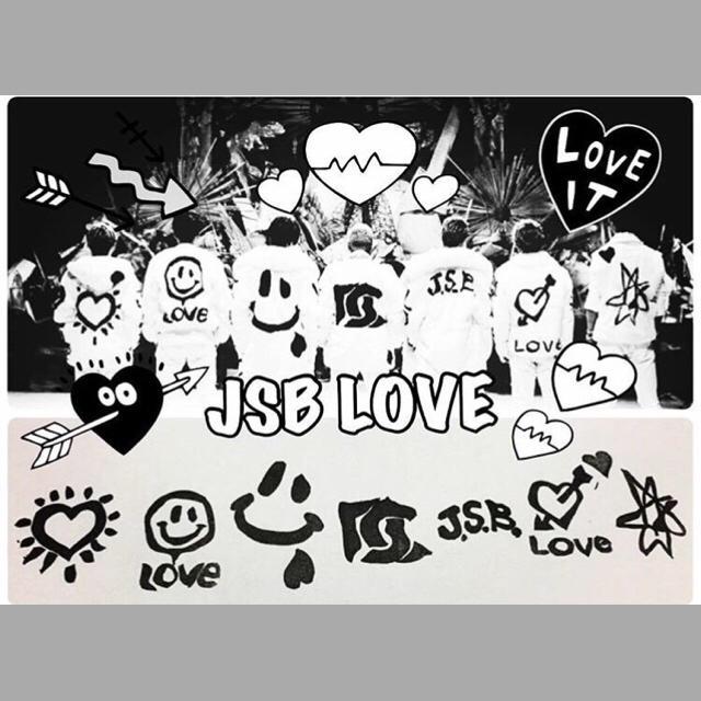 三代目 JSB LOVE ネイルシール エンタメ/ホビーのタレントグッズ(ミュージシャン)の商品