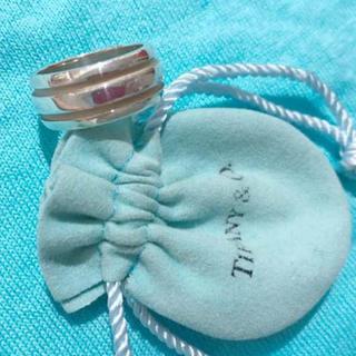 ティファニー(Tiffany & Co.)の新品 未使用‼︎ 破格‼︎ティファニー リング 17号 3JSB着用(リング(指輪))