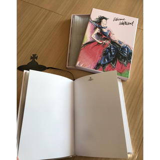 ヴィヴィアンウエストウッド(Vivienne Westwood)の新品・未使用 Vivienne Westwoodノベルティーノート(ノート/メモ帳/ふせん)