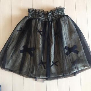ニーナミュウ(Nina mew)のニーナミュウ リボンスカート(ミニスカート)
