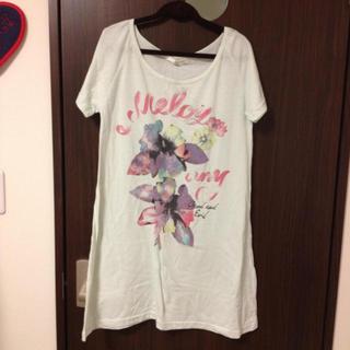 ミスティウーマン(mysty woman)のワンピTシャツ(Tシャツ(半袖/袖なし))