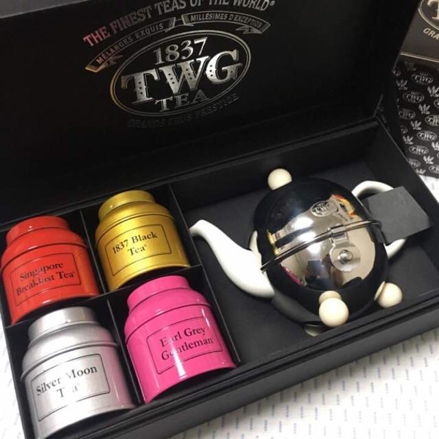 TWGティーセット 食品/飲料/酒の飲料(茶)の商品写真