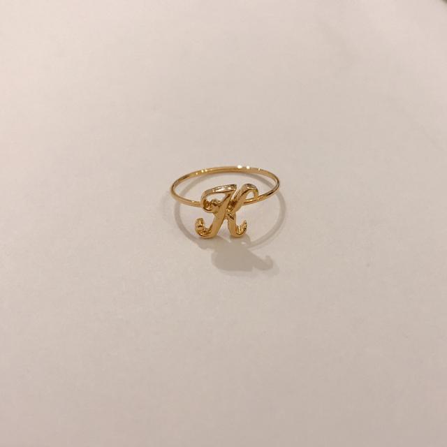 a~yまで!ピンキーリング レディースのアクセサリー(リング(指輪))の商品写真