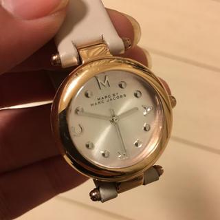 マークバイマークジェイコブス(MARC BY MARC JACOBS)の送料無料MARC BY MARC JACOBS新品腕時計レザーベージュ(腕時計)