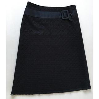 アーティショ(ARTI CHAUT)のARTICHAUTのレース使いスカート(ひざ丈スカート)