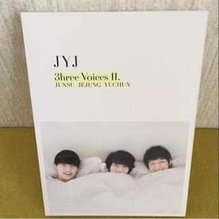 ジェイワイジェイ(JYJ)のJYJ 3HREE VOICESⅡ  DVD (その他)
