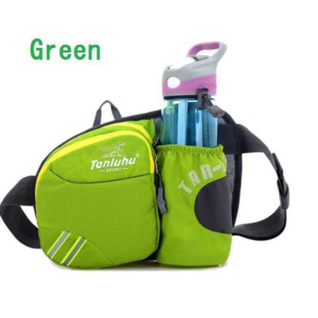 【新品】ウエストバッグ/ボディバッグ/レディース/メンズ/グリーン レディースのバッグ(ボディバッグ/ウエストポーチ)の商品写真