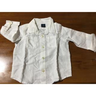 ベビーギャップ(babyGAP)の新品 babyGap  90  白シャツ(ブラウス)