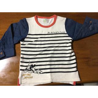 ディズニー(Disney)のdisney baby 90 切り替えロンT(Tシャツ/カットソー)