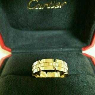 カルティエ(Cartier)の《カルティエ》未使用 タンクフランセーズ リング 11号 証明書付☆(リング(指輪))