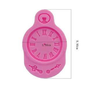 時計 モールド(型紙/パターン)