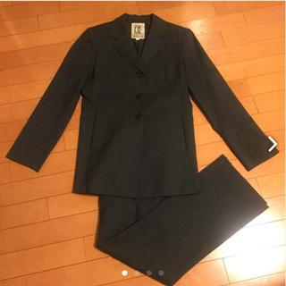 ミッシェルクラン(MICHEL KLEIN)のパンツスーツ上下セット グレー(スーツ)