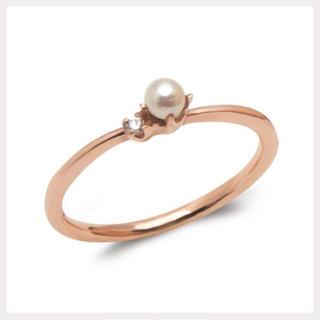 ブルーム(BLOOM)のパールのピンキーリング(リング(指輪))