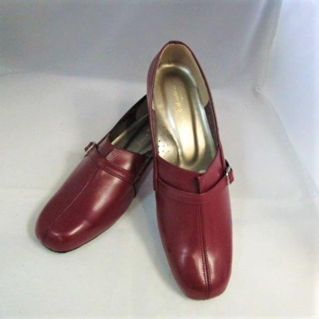 5E軽量パンプス■ベルトスギ■スギブラウン■25.5cm■594567 レディースの靴/シューズ(ハイヒール/パンプス)の商品写真