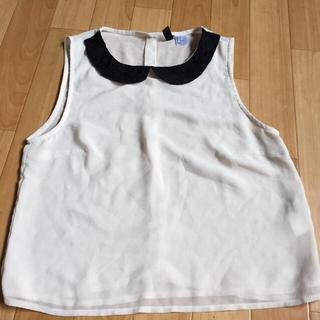 エイチアンドエム(H&M)のH&Mトップス (カットソー(半袖/袖なし))