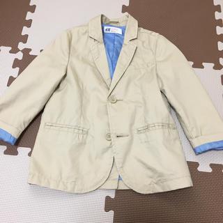 エイチアンドエム(H&M)のお値下げ‼︎美品‼︎ H&Mベージュジャケット(ジャケット/上着)