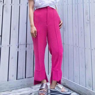 ジーヴィジーヴィ(G.V.G.V.)の取り置き中 g.v.g.v. high low hem trousers(クロップドパンツ)