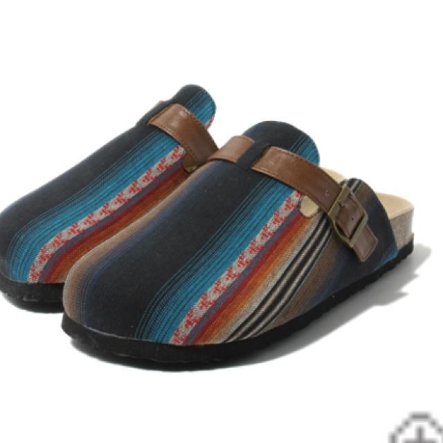 zozoブランド♡サボサンダル新品未使用 レディースの靴/シューズ(サンダル)