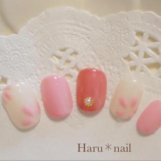 アンティーク風♡桜ネイル