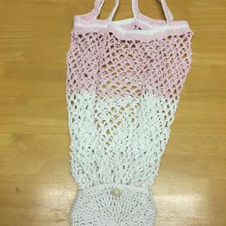 折りたたみエコバッグ ハンドメイドのファッション小物(バッグ)の商品写真