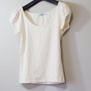 ダズリン(dazzlin)のダズリン Dazzin 半袖 カットソー Tシャツ オフホワイト(Tシャツ/カットソー(半袖/袖なし))