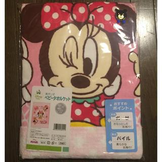 ディズニー(Disney)のベビーミニーちゃん タオルケット 大判(タオルケット)