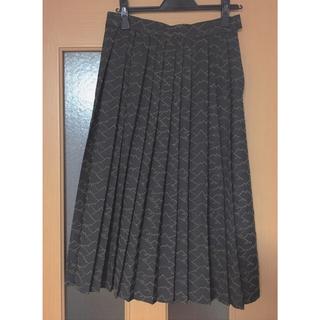 ディディジジ(didizizi)のdidizizi 山刺繍プリーツスカート(ひざ丈スカート)
