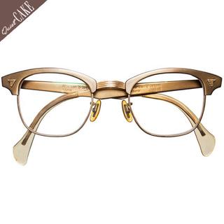 極美60s アメリカンオプティカル ビンテージ マルコムX ブローサーモント67(サングラス/メガネ)