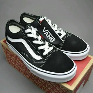 ヴァンズ(VANS)の即納可能♥送料込22cm♥VANS オールドスクール 黒