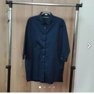ジーユー(GU)のGU ロングシャツ(Tシャツ(長袖/七分))