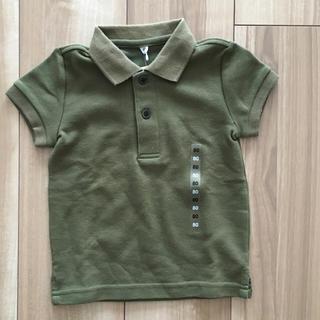 商品名:オーガニックコットン鹿の子半袖ポロシャツ(キッズ) キッズ120・オフ白