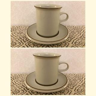アラビア(ARABIA)のARABIA FENNICA アラビア・フェニカ コーヒーカップ&ソーサー2客 (グラス/カップ)